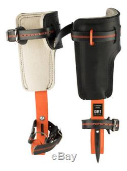Treeup Crampons Dr 1.0 Orange Griffes pour Arbre Aides D'Escalade Arbre