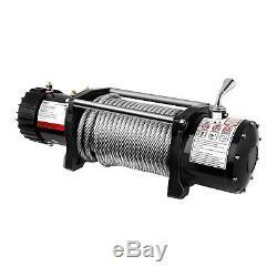Treuil 4X4 Treuil Électrique 12V Quad 6136 Kg 4500 W Câble Acier 28 M 9 5 Mm