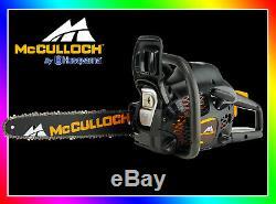 Tronçonneuse moteur thermique McCulloch CS 42S Cylindrée 42cm³. Article NEUF