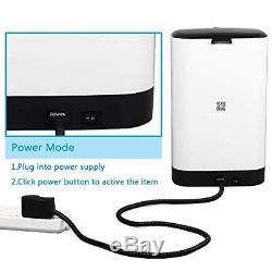 UUNITONA WiFi Distributeur Automatique de Nourriture HD 720P 4.5L mangeoire Dis