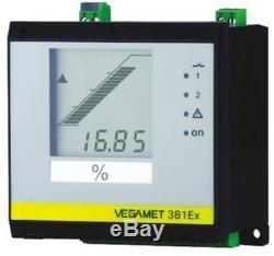 Vega Vegamet 381 Séries Montage sur Rail, Support Mural Niveau Sonde Relais