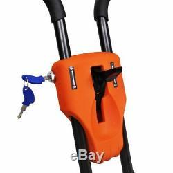 VidaXL Débroussailleuse à roue 2 temps 1,9 KW monocylindre refroidi par air